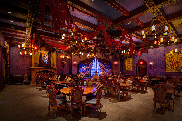 Be our guest lunch review our view through the kingdom for 3 dining rooms at be our guest